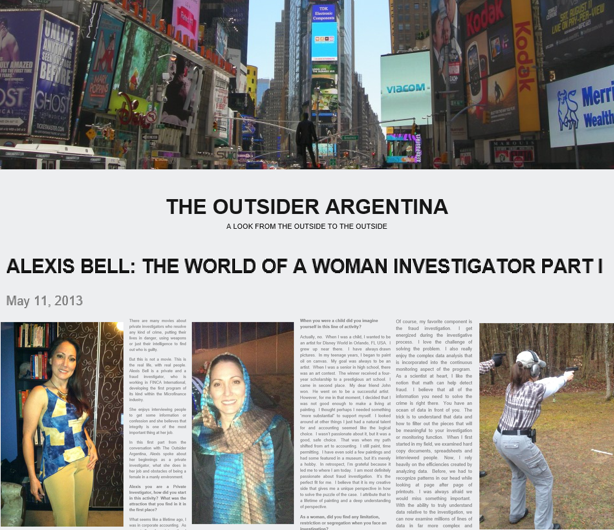 Outsider Argentina (Part 1)