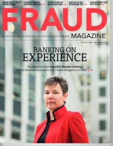 Fraud Magazine May/June 2017 Cover