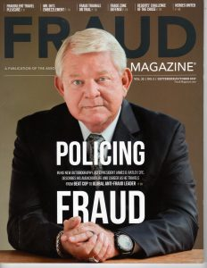Fraud Magazine Sept/Oct 2017 Cover