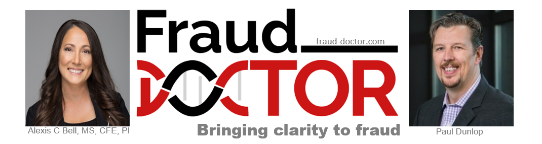 Fraud Doctor Banner - bringing clarity to fraud