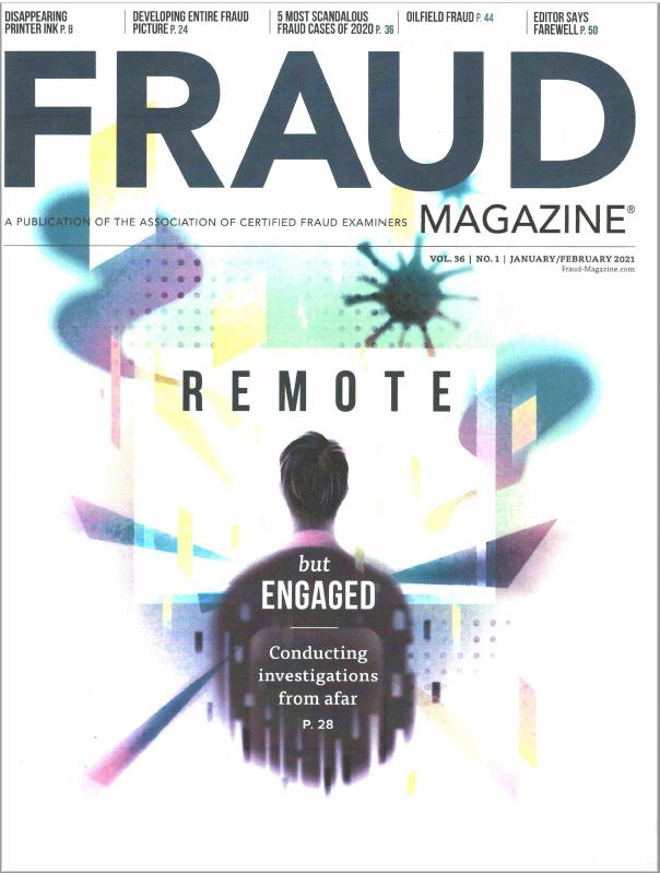 Fraud Magazine (2021 Jan-Feb) cover